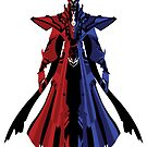LoL - Karthus (dark red and blue) by Cafer Korkmaz