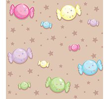 Starry Candy Photographic Print