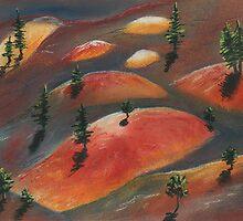 Painted Dunes by Anastasiya Malakhova