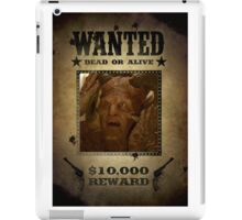 Buffy Giles as Fyarl Demon Wanted iPad Case/Skin