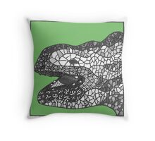 Gaudi sculpture Throw Pillow