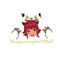 LoL - Have you seen my bear Tibbers? Photographic Print