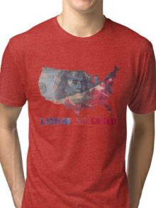 Land of the Greed Tri-blend T-Shirt