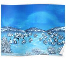 Winter Hills Poster