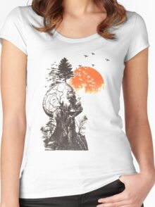 Treehead Women's Fitted Scoop T-Shirt