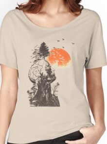 Treehead Women's Relaxed Fit T-Shirt