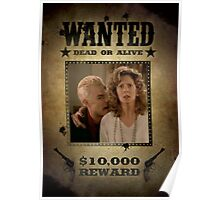 Buffy Spike and Joyce Wanted Poster