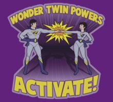 Wonder Twins by chachi-mofo