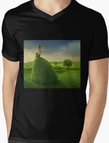 Natural Defense  Mens V-Neck T-Shirt