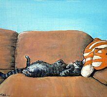 Sleeping Cat by Anastasiya Malakhova