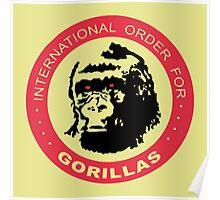 International Order For Gorillas Poster