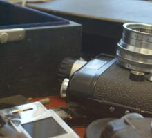 Stasi spy cameras Sticker