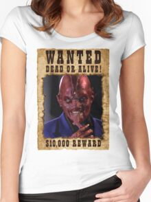 Buffy Sweet Once More With Feeling Wanted Women's Fitted Scoop T-Shirt