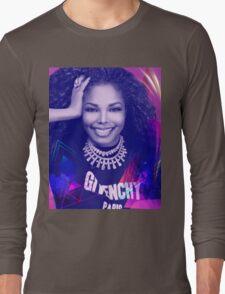 Beautiful Janet  Long Sleeve T-Shirt