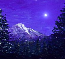 Moon Mountain by Anastasiya Malakhova