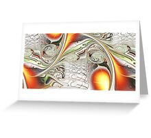 Orange Accent Greeting Card