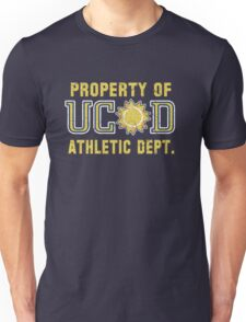 Property of UCSD Athletic Dept. Unisex T-Shirt