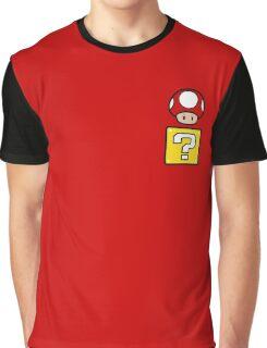 Mario Mushroom in your Pocket Graphic T-Shirt