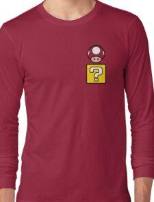 Mario Mushroom in your Pocket Long Sleeve T-Shirt