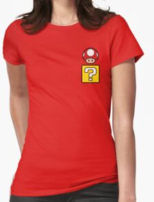 Mario Mushroom in your Pocket Womens Fitted T-Shirt