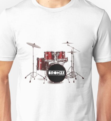 Buffy The Bronze Sunnydale Drums  Unisex T-Shirt