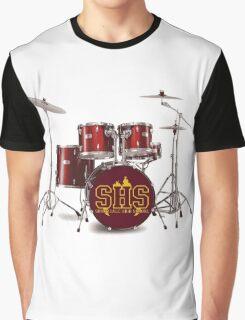 Buffy SHS Sunnydale High School Drums Graphic T-Shirt