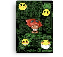 Chibi Edward Canvas Print
