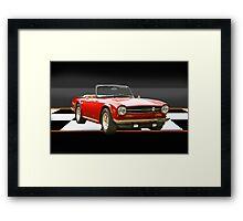 1969 Triumph TR6 Framed Print