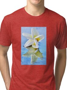 The Perfect Plumeria Tri-blend T-Shirt