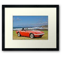 1966 Lotus Elan Framed Print
