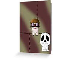 Chibi Mamma Aiuto Greeting Card