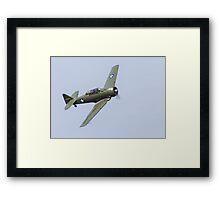 North American Aviation INC AT-6D Harvard III Framed Print