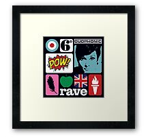 Swinging Sixties Two Framed Print