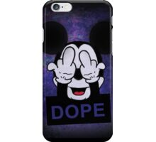 Mickey Hands dope iPhone Case/Skin
