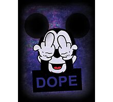 Mickey Hands dope Photographic Print