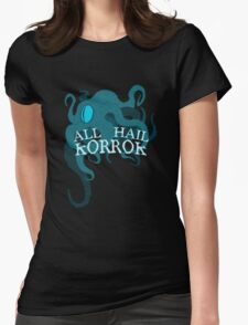ALL HAIL Womens Fitted T-Shirt