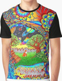 'Intergalactic Fox' Graphic T-Shirt