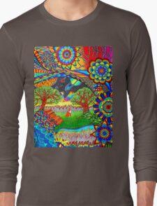 'Intergalactic Fox' Long Sleeve T-Shirt