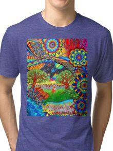 'Intergalactic Fox' Tri-blend T-Shirt