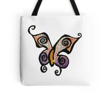 Becky Butterfly Tattoo Tote Bag