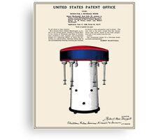 Milkshake Machine Patent Canvas Print