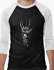 Freddy Krueger | Steampunk Claw Men's Baseball ¾ T-Shirt