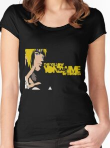 Minato the yellow flash  Women's Fitted Scoop T-Shirt