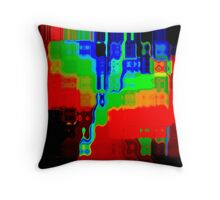 Psychedelic Throw Cushion And Tote Bag Throw Pillow