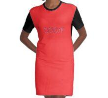 DDD/F-Bra Graphic T-Shirt Dress
