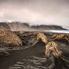 dunes and fog by JorunnSjofn Gudlaugsdottir