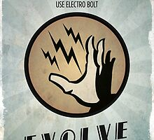 Bioshock Plasmid Electro Bolt - Evolve Today by dylanwest2010