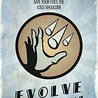 Bioshock Plasmid Winter Blast - Evolve Today by dylanwest2010