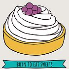 Born to eat sweets by Rin Ohara