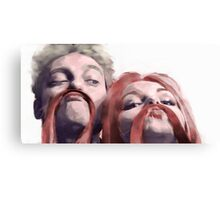 Draco and Ginny as Friends Canvas Print